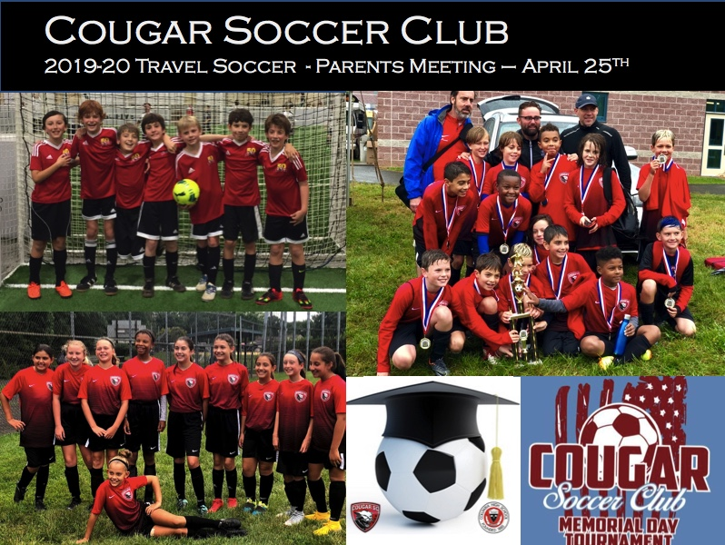 Travel Soccer – Parents Meeting – Cougar Soccer Club